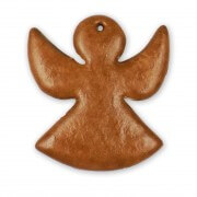 Gingerbread angel blank, 20cm