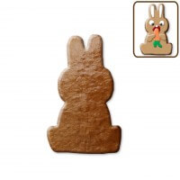 Easter cookies sitting rabbit, about 12 cm - blank