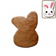 easter cookie blank bunny head, about 12 cm