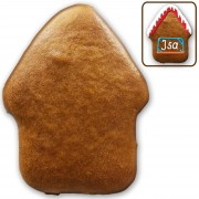 Blank gingerbread house do-it-yourself, 9cm