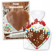 Do-it-yourself kit gingerbread heart - Christmas Edition
