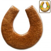 Gingerbread horseshoe blank for self-labeling, 17cm