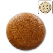 Gingerbread round to decorate yourself, 3cm