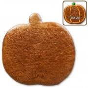 Gingerbread pumpkin blank, 20cm do-it-yourself