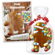 Gingerbread Santa Claus crafting set - Christmas edition
