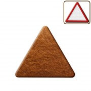 Triangular gingerbread to decorate, 12cm