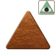 Gingerbread triangle blank for decorating, 20cm