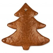 Gingerbread pinetree spiky blank, 22 cm