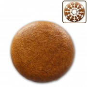 Gingerbread blank round, 5cm