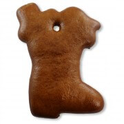 Gingerbread Boot blank, 12cm