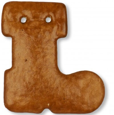 Gingerbread Boot blank, 16cm