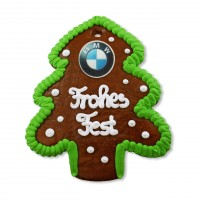 Gingerbread Christmas Tree, individual 17cm