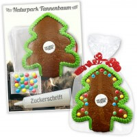 Gingerbread tree do-it-yourself crafting kits - 15cm