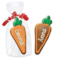 Gingerbread place cards, carrot 12cm