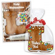 Crafting set gingerbread boots - Christmas Edition