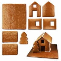 Gingerbread house - kit - size XL