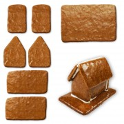 gingerbread house - kit - size XS