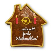 Gingerbread house, customized 30cm