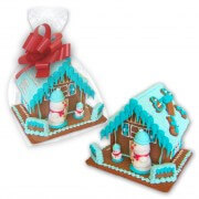 Individual gingerbread house - large