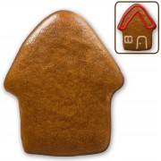 Mini gingerbread house blank do-it-yourself, 7cm