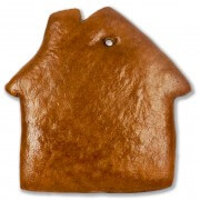 Gingerbread house blank XXL, 50cm