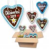 Gingerbread Heart Oktoberfest Mixed Box -16cm - 30 hearts per box