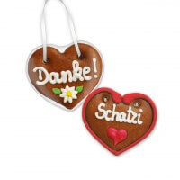 Mini Gingerbread Heart 8cm