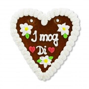 Gingerbread Heart, medium