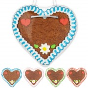 Blank Lebkuchen Heart 12cm with Decoration