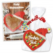 Crafting set Gingerbread heart with Hat - Christmas Edition
