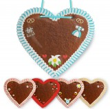 Gingerbread Heart XXL with Decoration