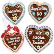 As you desired gingerbread heart 18cm