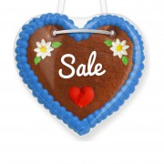 Gingerbread hearts sale - 12cm
