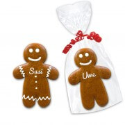Gingerbread man place card, 15cm