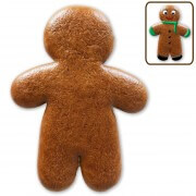 Gingerbread man blank for painting yourself, 30cm