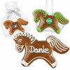 Gingerbread horse  individual, 15cm - optional with logo