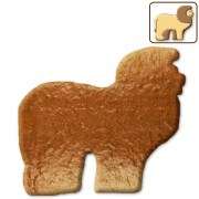 Gingerbread blank lion, 12 cm