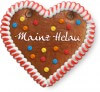 Mainz Helau - Gingerbread Heart 12cm