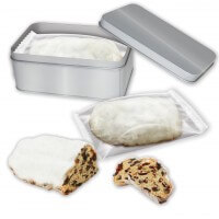 Tin with stollen cake - different sorts