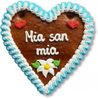 Mia san mia - Gingerbread Heart 14cm