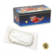 Stollen in christmassy tin, 200g - diff. varieties