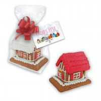 Order mini gingerbread house as christmas present - incl. personalized card