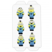 Minion Sugar figure set, 6 pieces