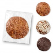 Nuremberg gingerbread wafer - single packed - basic quality