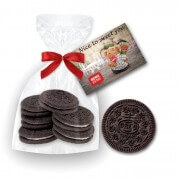 Oreo Cookie 6 pieces in present bag with printed card