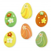 Easter egg candy decoration set, 96 pieces