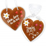 Gingerbread Heart Invitation Johanna