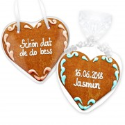 Gingerbread Heart Invitation Melissa