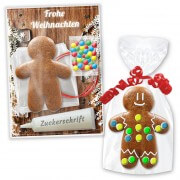 Craft kit Gingerbread man 12cm - Christmas Edition