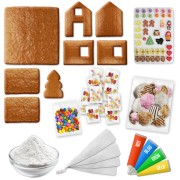 Gingerbread house kit XL – All-Inclusive-Set